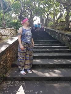 Uluwatu Temple stairs